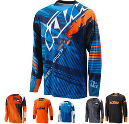 Ktm Clothes Australia - Motorcycle wholesale sweatshirt XC motorcycle GP mountain bike for ktm off-road riding suit XC BMX DH mountain bike T-shirt K clothing
