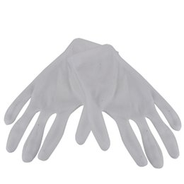 $enCountryForm.capitalKeyWord UK - 12 Pairs White Cotton Work Gloves Hand Protection Safety Antistatic Nonslip Industrial Gloves for Electronic Testing Computer