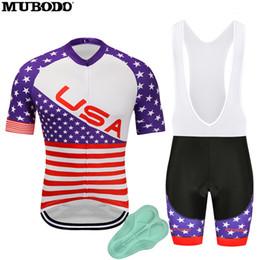Usa Cycling Jerseys Australia - MUBODO 2018 USA Cycling Jersey Short  Sleeves Ropa Ciclismo Hombre MTB 1d85c6b4f