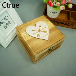$enCountryForm.capitalKeyWord NZ - Customized Name DIY Wedding Ring Box With Lock Engagement Personalized Wood Ring Bearer Storage Box Favor Gifts Ring Box Holder