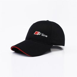 Speed S NZ - 2017 New Logo Black Baseball Cap RS Speedway Hat Racing MOTO GP Speed Car Caps Men and Women Snapback Fans Summer S line Hats