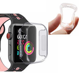 New Watch Touch Screen Australia - For Iwatch 4 Case 40mm 44mm 3D Touch Ultra Clear Soft TPU Cover Apple Watch Series 4 3 2 1 Screen Protector Cases for New Apple Watch 4