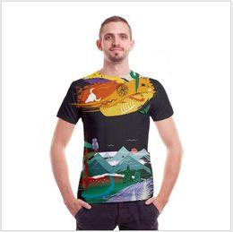 Discount popular t shirt designs - 2018 Latest Design Brand Men's Solid Color T-Shirts Short Sleeve Round Neck High Quality Summer Popular Men 's