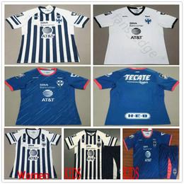 2018 2019 Rayados Monterrey Soccer Jerseys Molina HURTADO D.PABON Custom 18  19 Home Away White Blue Adult Kids Women Men Football Shirt d92c93959