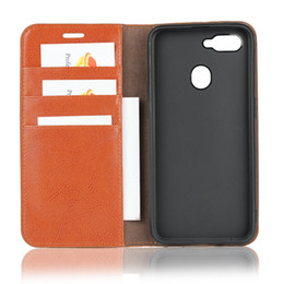 OPPO F9 case DNGN handmade genuine leather Luxury flip cover Wallet  Kickstand Card Slot protective oppo F9 phone shell dedc2d5ab182