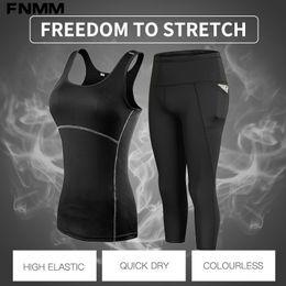 $enCountryForm.capitalKeyWord NZ - Women Yoga Set Fitness Gym Clothes Sport Shirt+Pants Breathable Workout Clothes Yoga Leggings Sport Suit Women Plus Size S-XXL