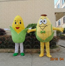 vegetable fancy dress 2019 - Adult size Corn mascot custom Vegetable Corn mascot fancy dress costume Shool Event Birthday Party Costume Mascot