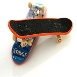 Mini Gift Boxes NZ - Alloy Stand Mini Finger Skate Boarding Toys 60 colour decoration With Retail Box FingerBoard Children Gift