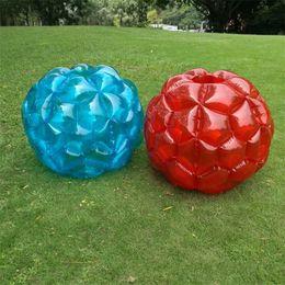 Inflatables games online shopping - Children Inflatable Body Bump Ball Sports Toys PVC Air Bubble Fun Outdoor Interactive Game Fun Buffer Balls sr W