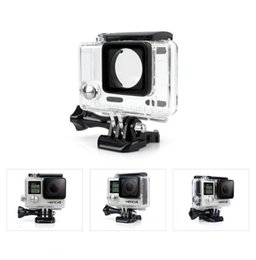 $enCountryForm.capitalKeyWord NZ - for Go Pro Accessories Waterproof Case 60m Underwater Diving Shell Cover Housing Skeleton Frame for Gopro Hero 4 3+