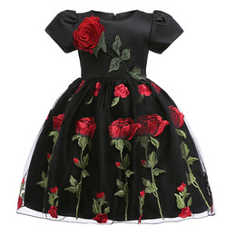 $enCountryForm.capitalKeyWord NZ - 2018 lace flower Girls Dresses autumn winter baby girls clothes Fashion children's clothing for 2-8 yrs girl Birthday Christmas vestidos