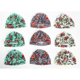 $enCountryForm.capitalKeyWord NZ - 1 Pcs Newborn Baby Hat Girls Flower Bowknot Beanies LOVELY Soft Cotton Hat Comfortably Hospital Caps 2017 Hot Sale Cute Baby Cap