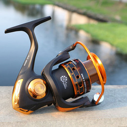 Rock Bait Australia - Spinning Fishing Reel 12BB + 1 Bearing Balls 500-9000 Series Metal Coil Spinning Reel Boat Rock Fishing Wheel