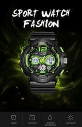 $enCountryForm.capitalKeyWord Australia - New brand SMAEL Fashion Cool Men Watches Electronic Original Smart Shockproof LED Light Male Dive Hot Selling watch sports wristwatches