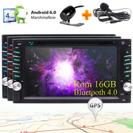 double din dash gps Australia - EinCar Android 6.0 GPS Car DVD Player Double Din 6.2'' Touchscreen Car Stereo Bluetooth In Dash GPS Navigation Radio Receiver WiFi