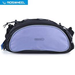 $enCountryForm.capitalKeyWord NZ - ROSWHEEL Bicycle Bag Multifunction 13L Bike Tail Rear Bag Saddle MTB Cycling Basket Rack Trunk Bag Shoulder Handbag Messenger +B