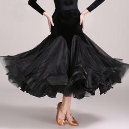 $enCountryForm.capitalKeyWord NZ - Ballroom Latin Dance Skirts Women Ladies Practice Wear Skirt Clothes For Salsa Waltz Modern Standard Competition Costumes DN1599