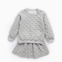 Winter Baby Suit Designs Australia - Hurave hot sale 2018 New design autumn baby girls INS full sleeve shirts + shorts suits boutique outfits kids clothing girl sets