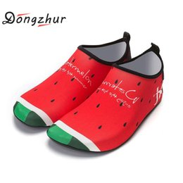 Dive Suits Wholesale NZ - Women Aqua shoes Anti Skid Beach Shoes Swimming Surfing Neoprene Socks Adult Diving Boots Wet Suit Water Sports