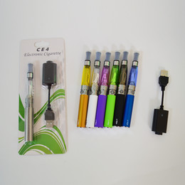 vape single pen cases NZ - Ego Vape Cartridges Starter Kits CE4 Atomizer E Cig 650mah 900mah 1100mah EGO-T Battery Blister Kit Case Clearomizer 510 Vape Pen Battery