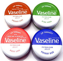 $enCountryForm.capitalKeyWord NZ - Vaseline Lip therapy cocoa butter for soft glowing rosy lips Hydrating Petroleum jelly moisturizing Lip balm lip cream DHL freeshipping