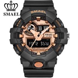 $enCountryForm.capitalKeyWord Australia - Top Brand SMAEL Men Fashion Sport Watches Men's Quartz LED Analog Clock Man Military Waterproof Wrist Watch Relogio Masculino