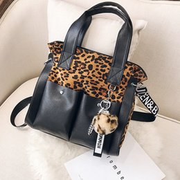 $enCountryForm.capitalKeyWord Canada - Sexy Leopard bag Clutch Handbag PU Leather bags for women 2018 Punk Style Messenger Bag Ladies Casual Tote