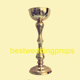$enCountryForm.capitalKeyWord NZ - Wedding Candle Holder silver gold Romantic Standing Wedding Candlestick Wedding Flower Stands Silver Candelabra best0097