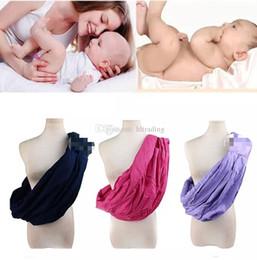 $enCountryForm.capitalKeyWord NZ - Newborn Sling Kids Breastfeeding Slings Carriers Baby Stretchy Wrap Carrier Backpacks Infant Strollers 7 colors C5149