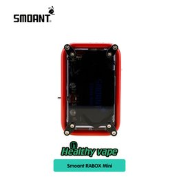 racing battery box 2019 - Authentic Smoant RABOX Mini 150W Box Mod with 3300mAh Built-In Battery Adjustable Mode Mechanical Mod VS Smoant Charon T