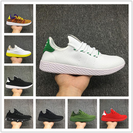 504477668fb1a New arrive Pharrell Williams x Stan Smith Tennis HU Primeknit men women  Running Shoes Sneaker breathable Runner sports Shoes EUR 36-45