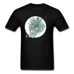 Chinese  Cool Tops & Tees Brand New Pure Cotton Labor Day O - Neck Deer T Shirt Normal Elk Tee - Shirt Forest Stag Wholesale Drop Shipping manufacturers