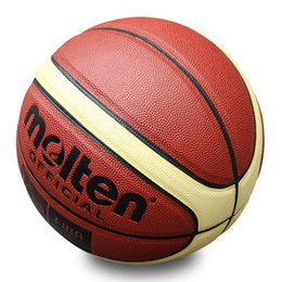 Hot exercise online shopping - School Size Basketball Sports Goods Match Train Basketballs Outdoor Indoor Exercise Playing Molten Official Hot Sale oq ii