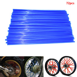 wrap kits Australia - For 72 Pieces Colorful Motorcycle Rim Covers Spoken Wrap Fur Tubes w   Towel Wrap Tubes Decor Protector Kit motorcycle protection