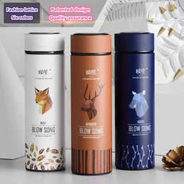 Discount designs for mugs - 2018 New fashion Brand BLOW SONG creative design thermal mug heat water cup super insulated vacuum flasks suit for or mi