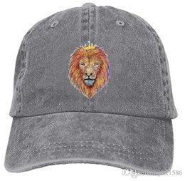 $enCountryForm.capitalKeyWord UK - Rasta Lion Baseball Caps Retro Top Quality Cool Hat Designs For College Students