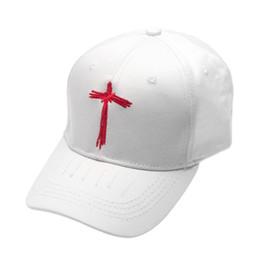 Simple Embroidery Adjustable Baseball Cap Snapback Hat Unisex Hip Hop Punk Style  Fashion Sunscreen Baseball Hat White Color 214f900fb093