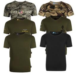 $enCountryForm.capitalKeyWord Australia - New Summer Camouflage Men T-shirt Casual Tactical Army Combat O Neck T Shirt Men Quick Dry Short Sleeve Camo Clothing 7 colors mk0432