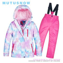 $enCountryForm.capitalKeyWord NZ - Kids Ski Suit Children Brands Windproof Waterproof Warm Girls And Boy Snow Set Pants Winter Skiing And Snowboarding Jacket Child