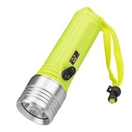 Led Lighting Realistic Underwater Worklight Yellow Light White Light Scuba Diving Flashlight 26650 Xml-t6 Lampe Torche Waterproof Torch Flashlight18650 Lights & Lighting