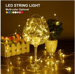 $enCountryForm.capitalKeyWord Australia - 2M 20 leds Silver Wire Fairy Garland Lamp LED String Lights Christmas Wedding Home Party Decoration Powered By CR2032 Battery