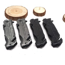 Discount outdoor self defense multi tool - Folding Knife Survival Folding Pocket Knife Outdoor Camping Tactical Knives Multi Functional EDC Tool 440c Blade Alumium