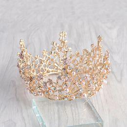 Orange Hair Feathers Australia - princess bridal crown headdress wedding yarn jewelry Brand New Bridal Wedding Hair Headband Tiara Prom Pageant