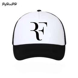 Roger Federer RF Tennis Fans Baseball Cap Mesh Summer Cool Caps Men Women  Adjustable Unisex Adult Cool Net Mesh Hat 82cfd2e3895a