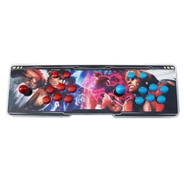 Chinese  Pandora Box 5s Arcade Game Console Controller Kit Set Double Joystick Console Support HDMI VGA Game Box manufacturers