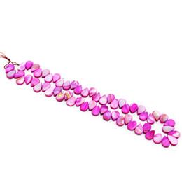 Mode Charme Schmuck Zubehör natürliche Austernschalen gefärbt Shell Stücke Ohrringe Halskette Schmuck Zubehör im Angebot