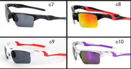 $enCountryForm.capitalKeyWord NZ - Summer New Style Only Sunglasses 10 Colors Sunglasses Men Bicycle Glasses Sport Cycling Dazzle Colour Eyewear Top Quality 99154