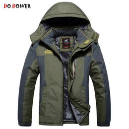 $enCountryForm.capitalKeyWord Canada - Wholesale-2017 Winter New Brand Men Thicken Coat Man Casual Hooded padded Warm Jacket Plus Size Loose Wadded Cotton Parkas 7XL 8XL 9XL