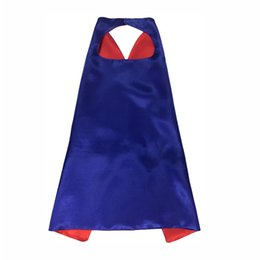 super-héros achat en gros de-news_sitemap_homeDouble Side Designs cm Enfants Super Héros Cape Cartoon Mignons Capes et Masques Enfants Enfants Capes Cosplay Party Costumes Halloween Cadeau