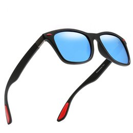sunglasses designs NZ - KRMDING Classic brand design polarized sunglasses men and women driving box sunglasses men glasses UV400 Gafas De Sol D048